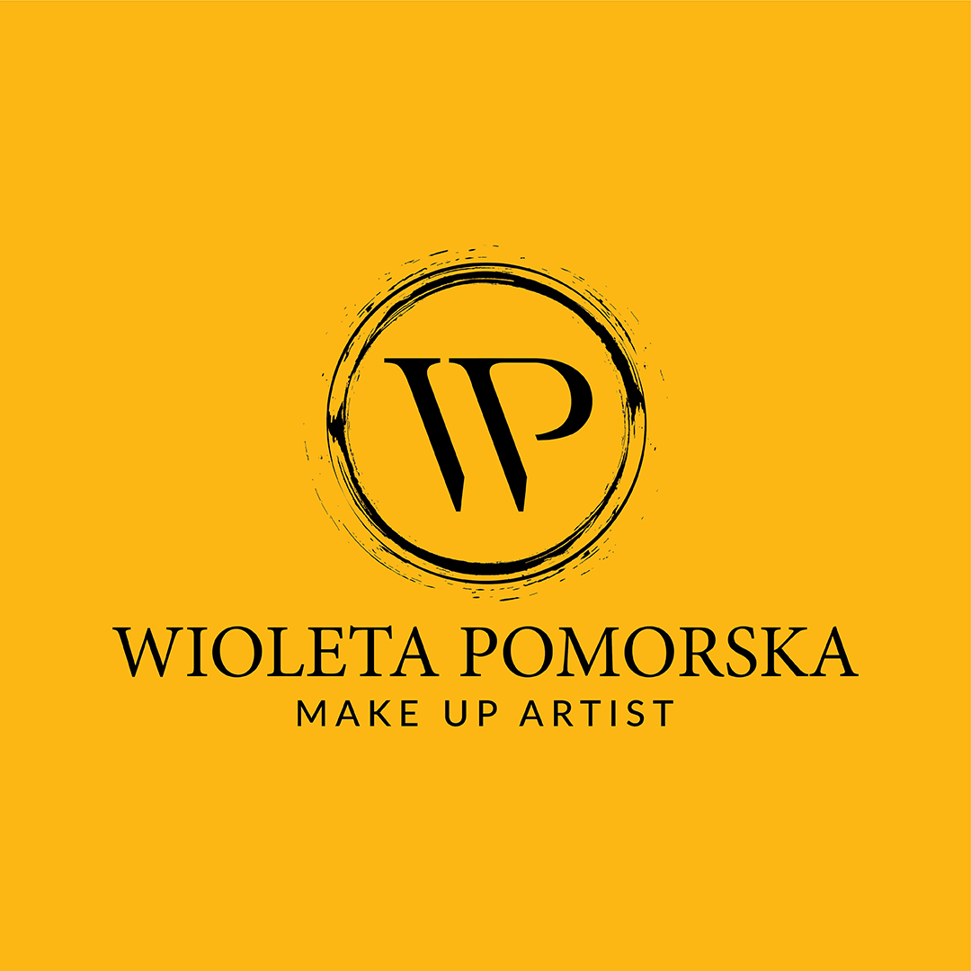 WIOLETA POMORSKA MAKE UP ARTIST LOGO